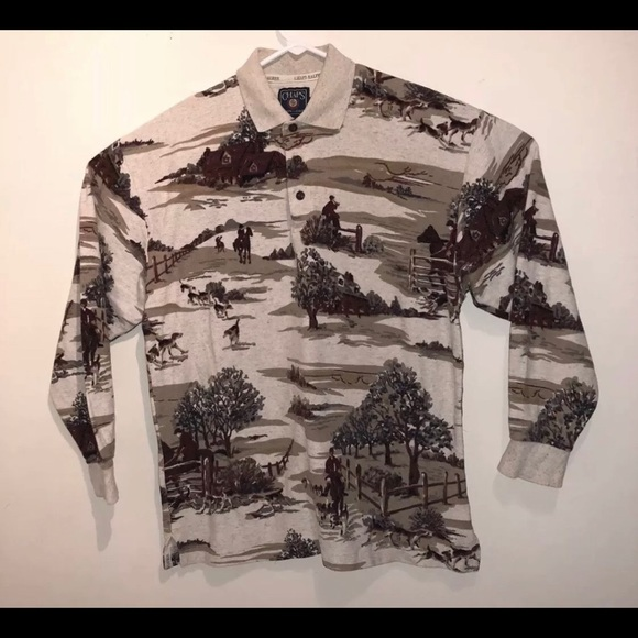 cb9d703e3 Chaps Shirts | Ralph Lauren Polo Long Sleeve Size Large | Poshmark